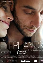 Les éléphants Poster