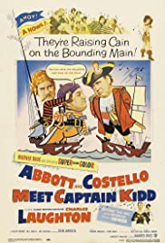 Abbott and Costello Meet Captain Kidd (1952) Poster - Movie Forum, Cast, Reviews