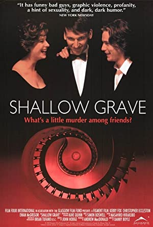 Shallow Grave poster