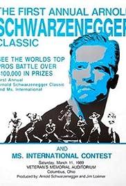 Arnold Schwarzenegger Bodybuilding Classic Poster