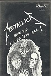 Metallica: Cliff 'Em All! Poster