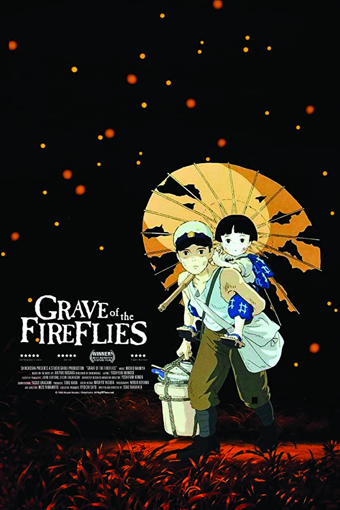 Image result for grave of the fireflies poster
