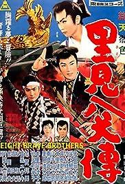 Satomi hakken-den Poster