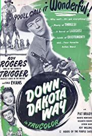 Down Dakota Way Poster