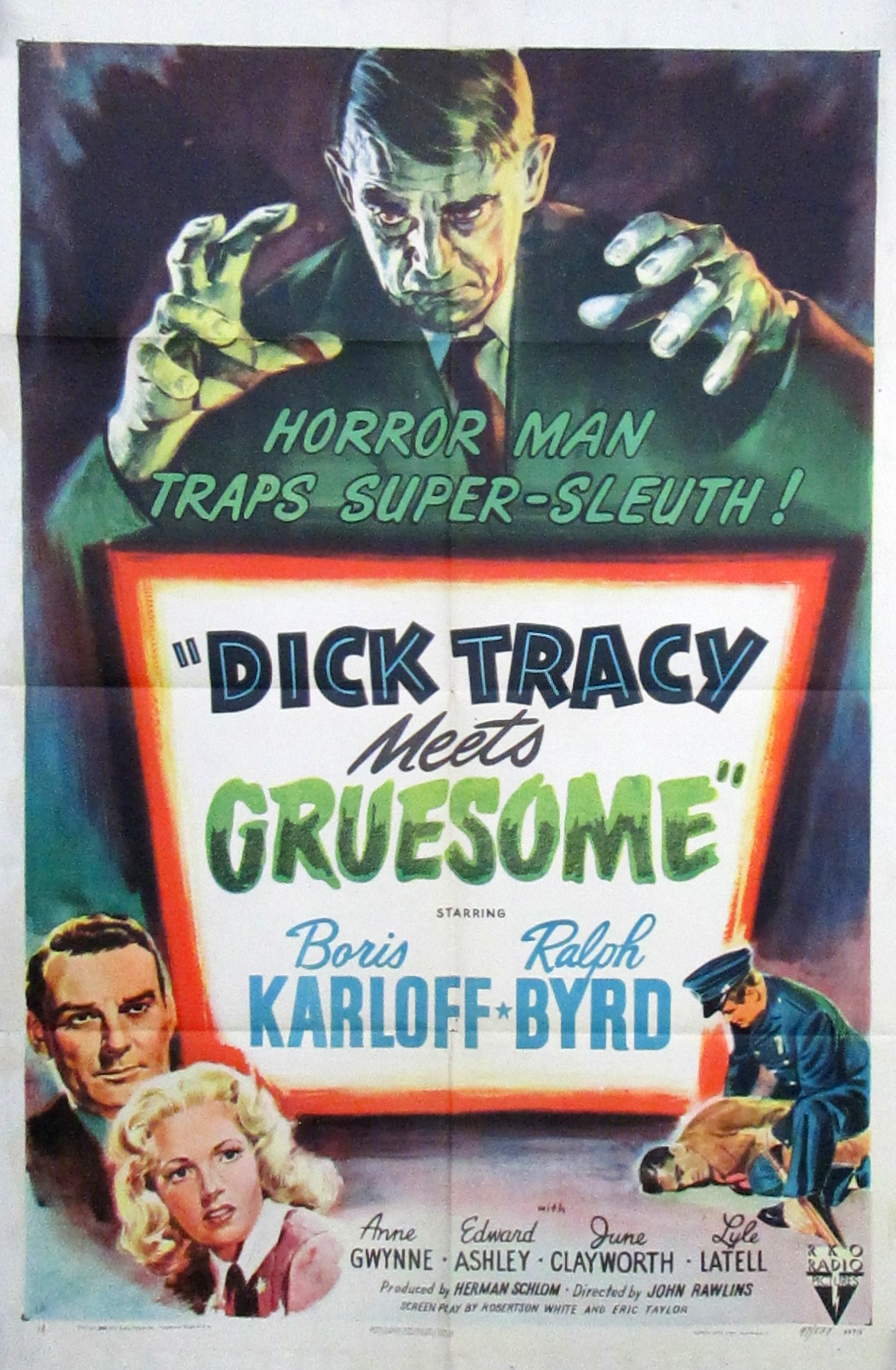 image Dick Tracy Meets Gruesome Watch Full Movie Free Online