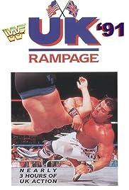 WWF UK Rampage '91 Poster