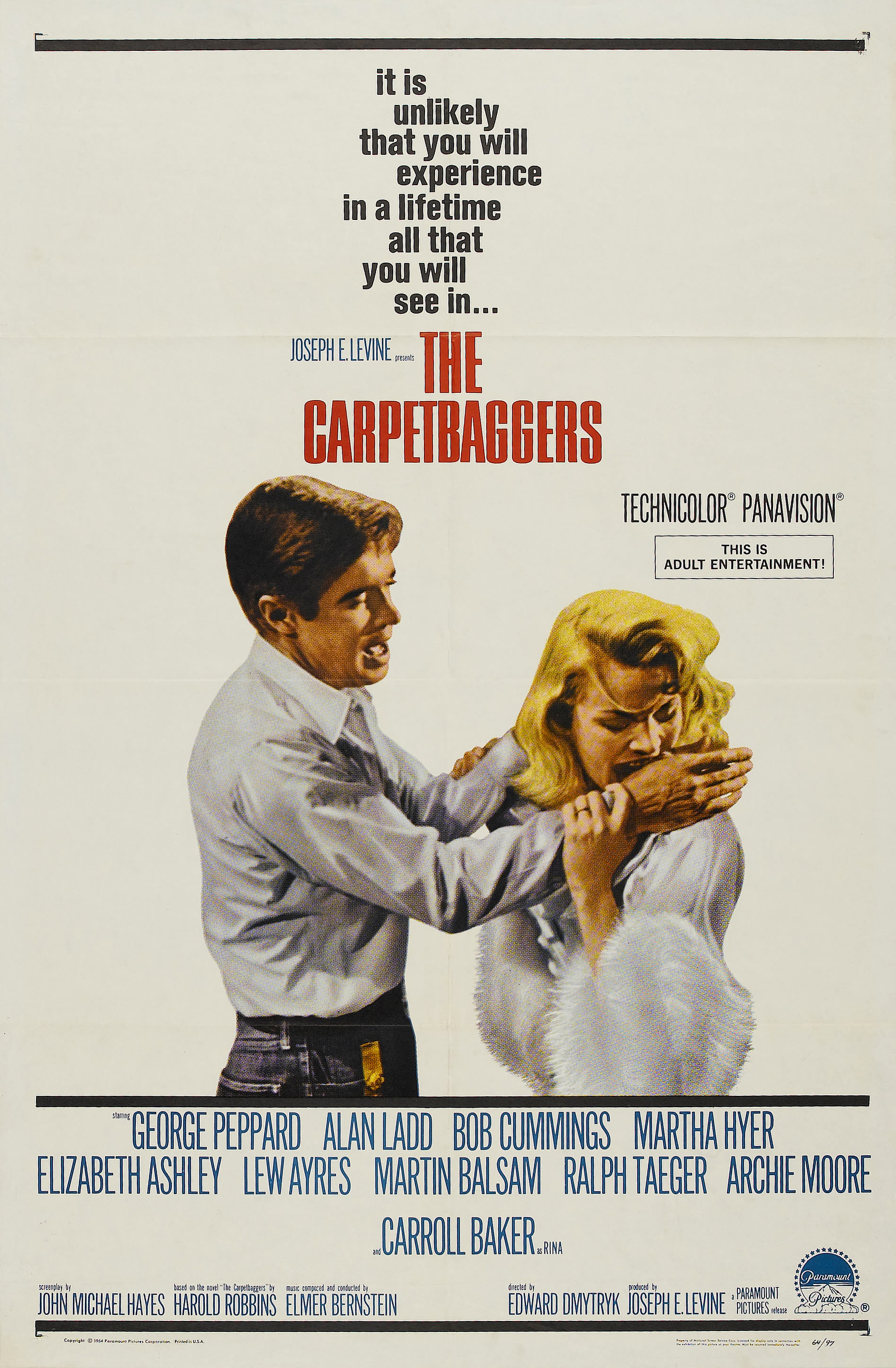 image The Carpetbaggers Watch Full Movie Free Online