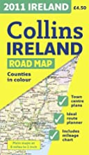 2011 Collins Map of Ireland by Collins