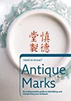 Antique Marks (Collins Need to Know?) by…