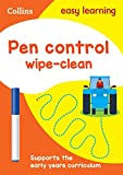 Pen Control Age 3-5 Wipe Clean Activity Book (Collins Easy Learning Preschool)