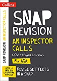 Collins Snap Revision Text Guides - An Inspector Calls: AQA GCSE English Literature