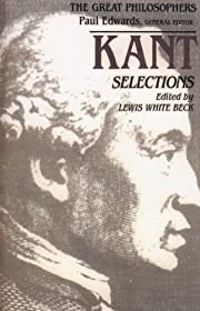 Kant : selections de Immanuel Kant