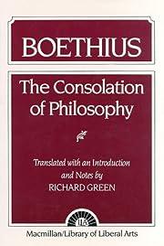 The consolation of philosophy de Boethius,