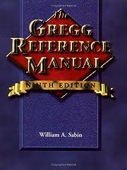 The Gregg Reference Manual de William Sabin