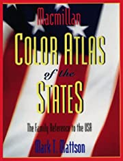 Macmillan Color Atlas of the States por Mark…
