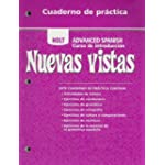 Nuevas Vistas - Cuaderno De Practica For Conmigo Nuevas Introducciones