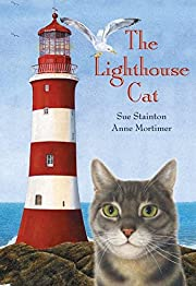 The lighthouse cat af Sue Stainton