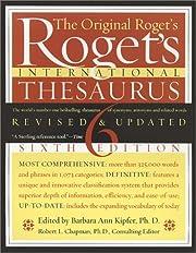 Roget's International Thesaurus por Peter…