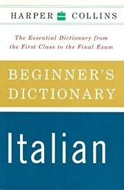 HarperCollins Beginner's Italian Dictionary…