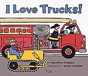 I Love Trucks! Board Book av Philemon…