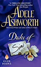 The Duke of Sin by Adele Ashworth