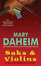 Saks and Violins by Mary Daheim