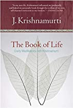 The Book of Life: Daily Meditations with…