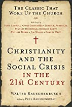 Christianity and the Social Crisis in the…