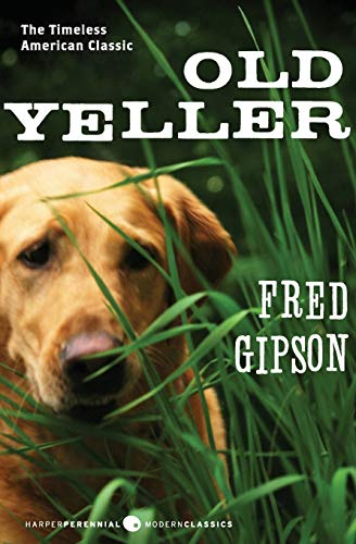 Old Yeller written by Fred Gipson part of Old Yeller