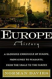 Europe: A History von Norman Davies