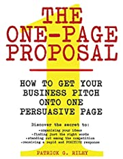 The One-Page Proposal: How to Get Your…