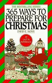 365 Ways to Prepare for Christmas de David…