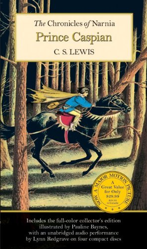 Prince Caspian written by C.S. Lewis part of The Chronicles of Narnia