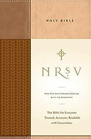 NRSV Standard Bible w/Apoc (tan/brown) por…
