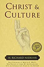 Christ & Culture by H. Richard Niebuhr
