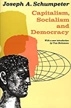 Capitalism, Socialism, and Democracy by…