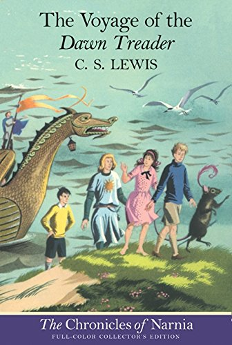 The Voyage of the Dawn Treader written by C.S. Lewis part of The Chronicles of Narnia