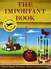 The Important Book de Margaret Wise Brown