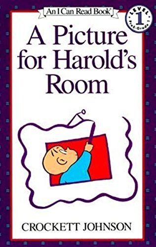 A Picture for Harold's Room written by Crockett Johnson