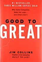 Good to great : why some companies make the…