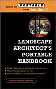 Landscape Architect's Portable Handbook…