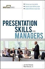 Presentation Skills For Managers de Jennifer…