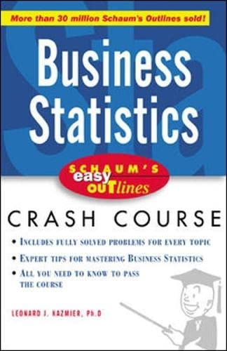 Schaums Outline Of Business Statistics Pdf