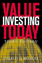 Value Investing Today de Charles Brandes