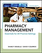 Pharmacy Management: Essentials for All…