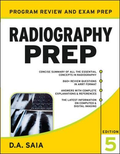 Radiography Prep Pdf