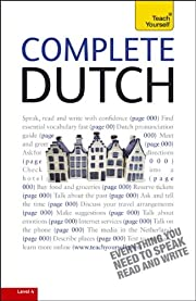Complete Dutch: A Teach Yourself Guide (TY:…
