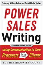 Power Sales Writing, Revised and Expanded…