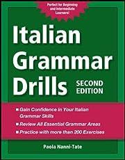 Italian Grammar Drills de Paola Nanni-Tate