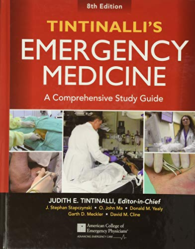 Tintinalli's Emergency Medicine: A Comprehensive Study Guide – 8th ed